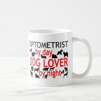 Mug Amoureux des chiens d'optométriste