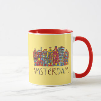 Mug Amsterdam dans la mosaïque