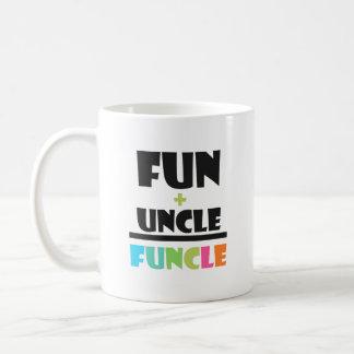 Mug Amusement de définition de Funcle+oncle drôle