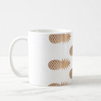 Mug Ananas gold