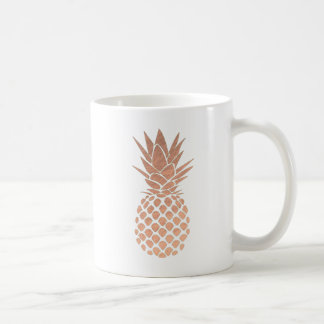 Mug ananas tropical d'or rose
