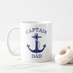 Mug Ancre nautique du capitaine Papa