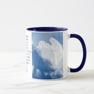 Mug Ange inspiré d'écriture sainte en nuages, Romains