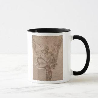 Mug Ange jouant un luth, 1491