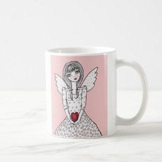 Mug ange rose