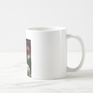 Mug angel with roses