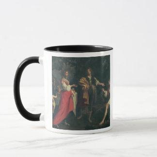 Mug Angélique officinale et l'amarrage, Medoro, 1634