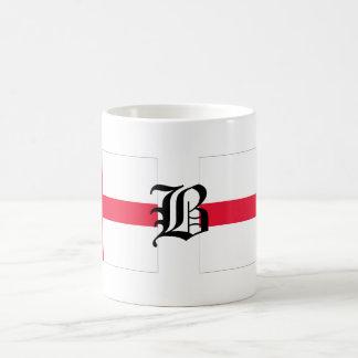 Mug Anglais-Drapeau de B-texte