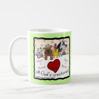 Mug Animal les créatures de tout le Dieu de
