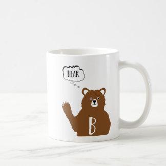 Mug Animaux d'alphabet - B est pour l'ours