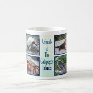 Mug Animaux des îles de Galapagos