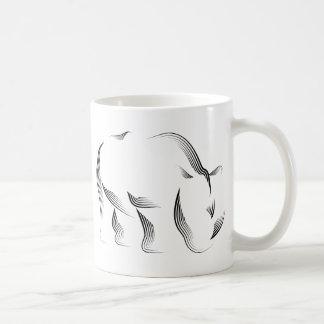 Mug Animaux - rhinocéros