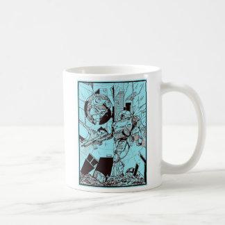 Mug Anime dans le bleu