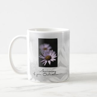 Mug Anniversaire de classification, aster
