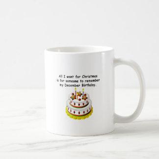 Mug Anniversaire de décembre