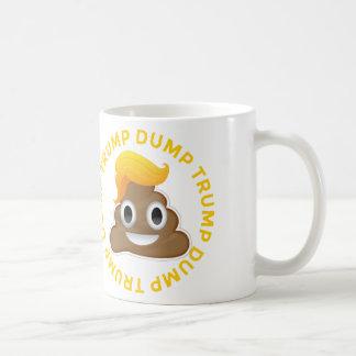 Mug Anti-Atout Donald Poo Donal de #DumpTrump d'atout
