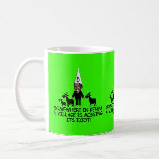Mug Anti Obama, idiot de village