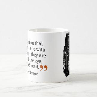 Mug Appareil-photo de lentille de la citation 1 du