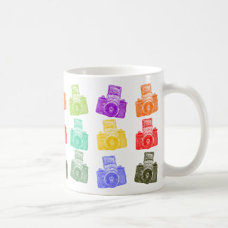 Mug Appareils-photo colorés