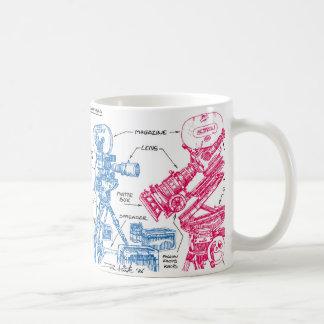 Mug Appareils-photo de cinéma (couleur)