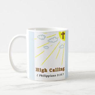Mug Appeler élevé (tasse)