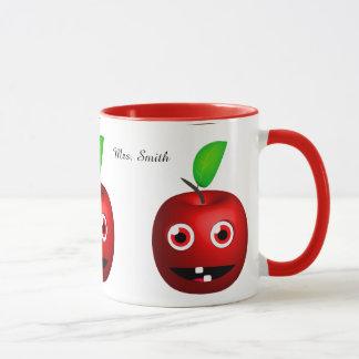 Mug Apple drôle pour le professeur