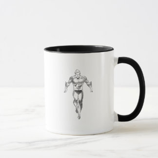 Mug Aquaman court BW