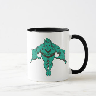 Mug Aquaman précipitant en avant - Teal