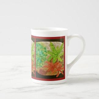 Mug Aquarelle de Succulents de jardin