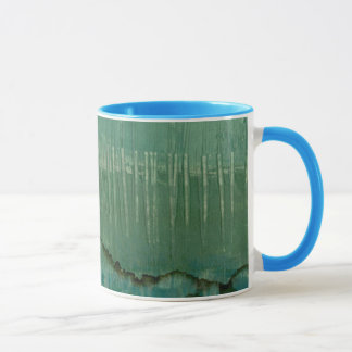 Mug Aquarelle verte contemporaine