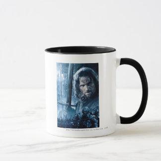 Mug Aragorn contre Orcs