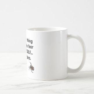 Mug Araignées de la crainte elle-même