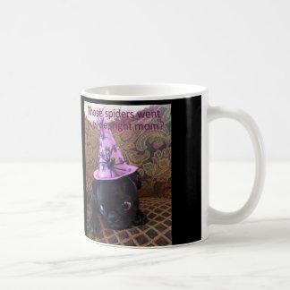 "Mug Araignées de Mlle Harley les ""sont allées dehors,"