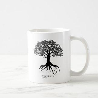 Mug Arbre de Yggdrasil de la vie