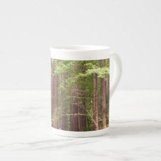 Mug Arbres de séquoia au monument national en bois de