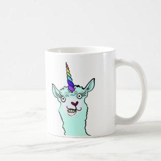Mug Arc-en-ciel Llamacorn à cornes
