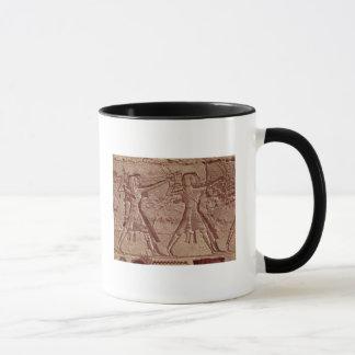 Mug Archers, détail de la chasse de Ramesses III