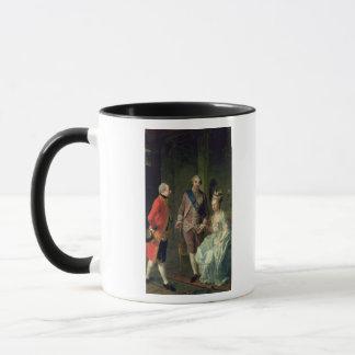Mug Archiduc Maximilian Franz rendant visite à Marie