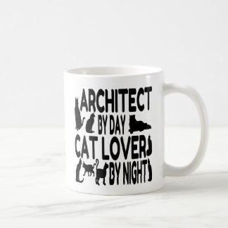 Mug Architecte d'amoureux des chats