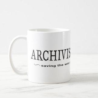 Mug Archivistes - sauvetage du monde