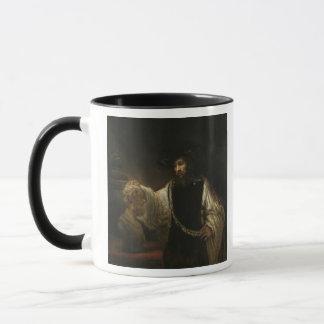Mug Aristote (384-322 AVANT JÉSUS CHRIST) avec un
