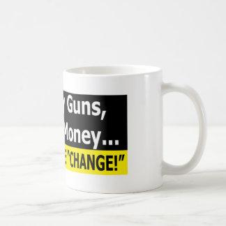 Mug Armes à feu, liberté, et argent