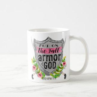 Mug Armure de rose de Dieu