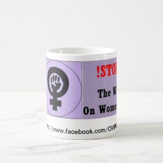 Mug Arrêtez la guerre sur des femmes