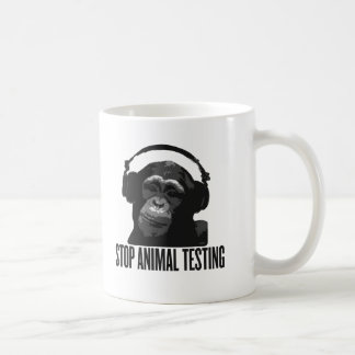Mug arrêtez l'expérimentation animale