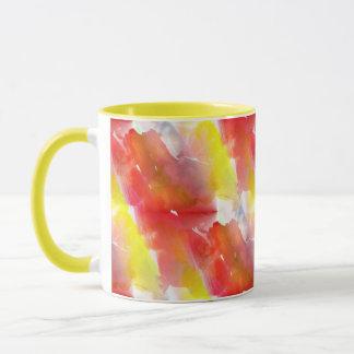 Mug Arrière - plan d'aquarelle de texture de