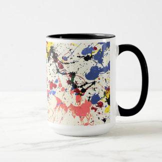 Mug Arrière - plan d'éclaboussure de peinture