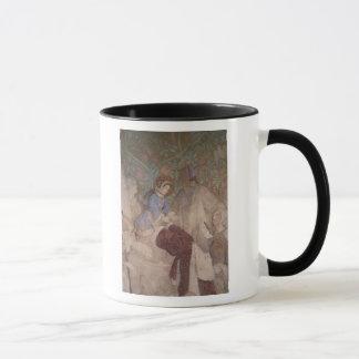 Mug Arrivée dans Eisenach, c.1854/55