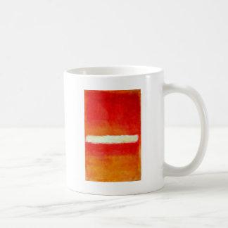 Mug Art abstrait moderne - style de Rothko