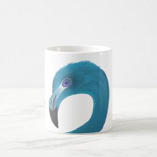 Mug Art bleu de flamant